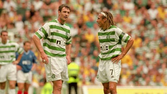 Chris Sutton Henrik Larsson Celtic cropped