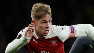 Emile Smith Rowe Arsenal 2018-19