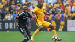 Ayanda Gcaba and Bernard Parker - Kaizer Chiefs and Orlando Pirates
