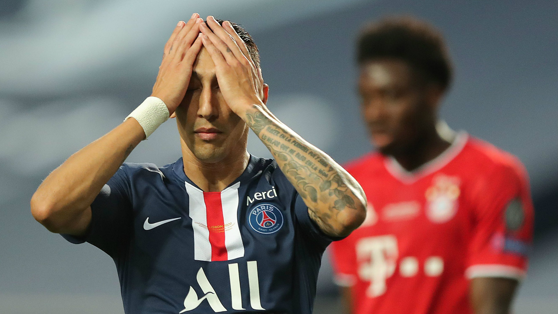 'We gave our lives for the PSG shirt' - Di Maria proud ...