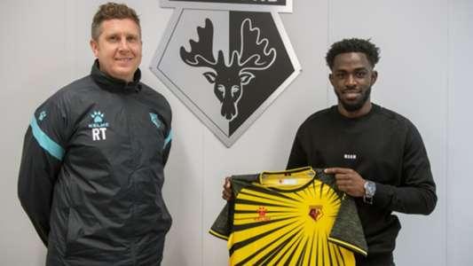Henry Ochieng: Championship side Watford confirm signing of Kenya U23 midfielder on loan