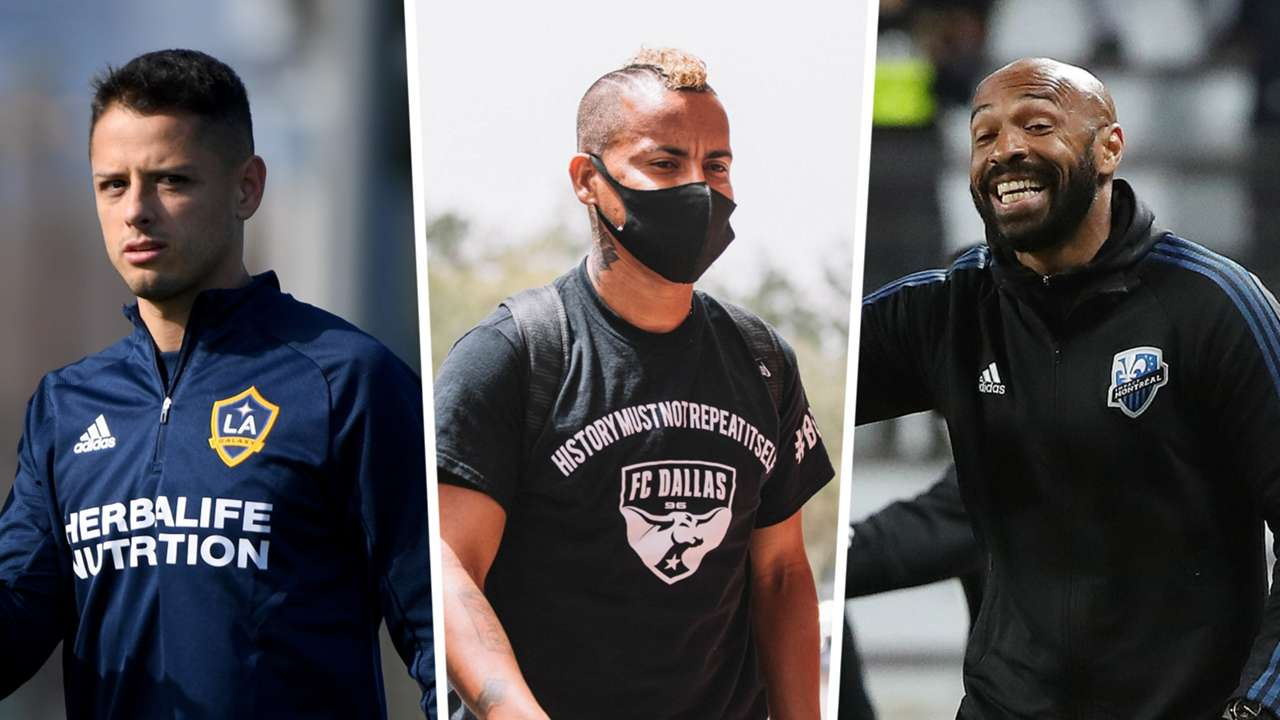 Javier Chicharito Hernandez LA Galaxy FC Dallas Thierry Henry Montreal Impact MLS GFX