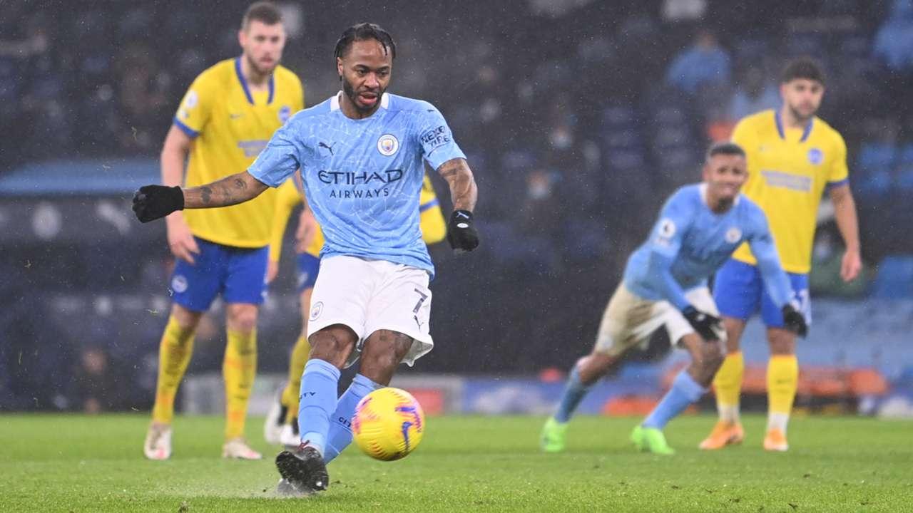 Raheem Sterling Manchester City 2020-21