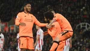 Mohamed Salah Liverpool Stoke City