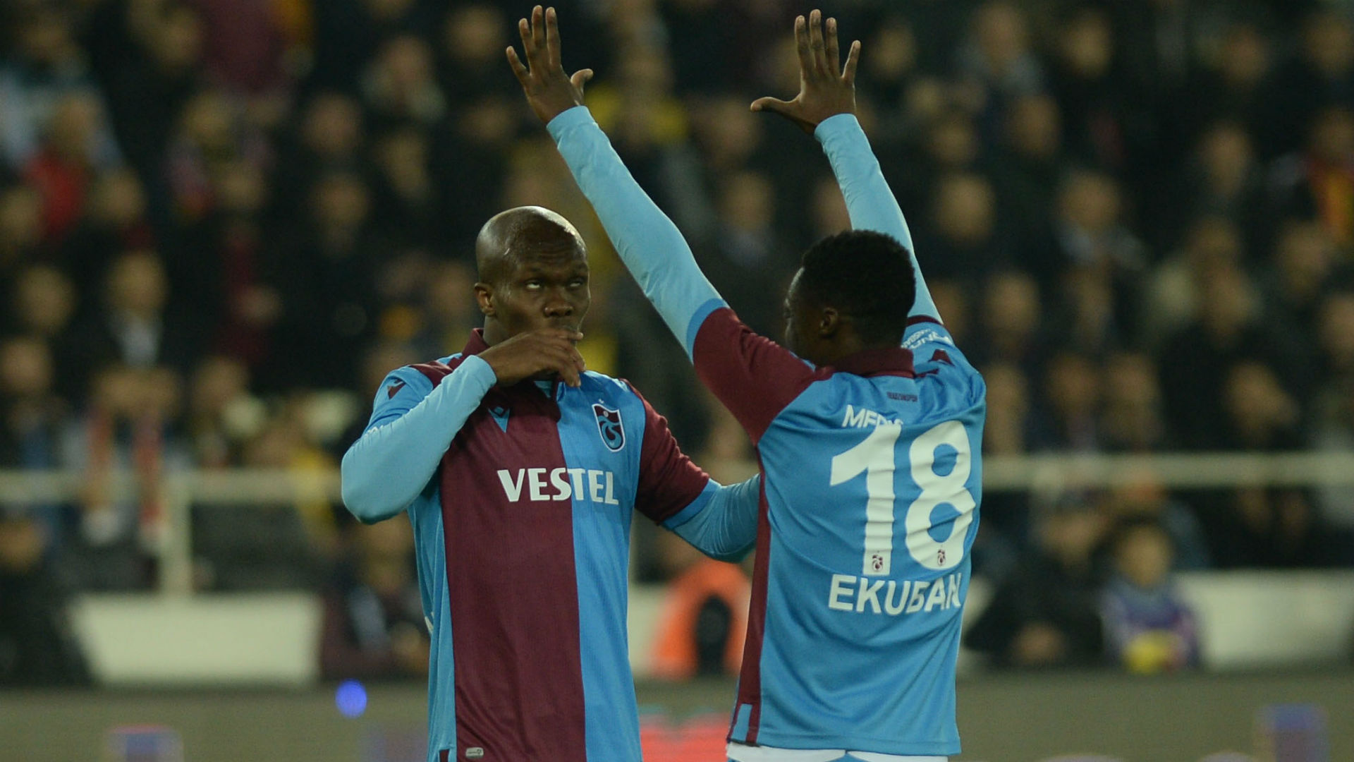 Nwakaeme nets, Ekuban assists in seven-goal thriller between Trabzonspor and Rizespor