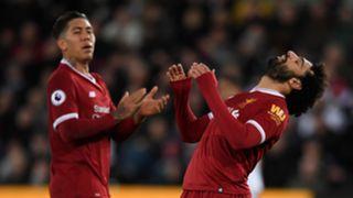 Roberto Firmino, Mohamed Salah, Liverpool