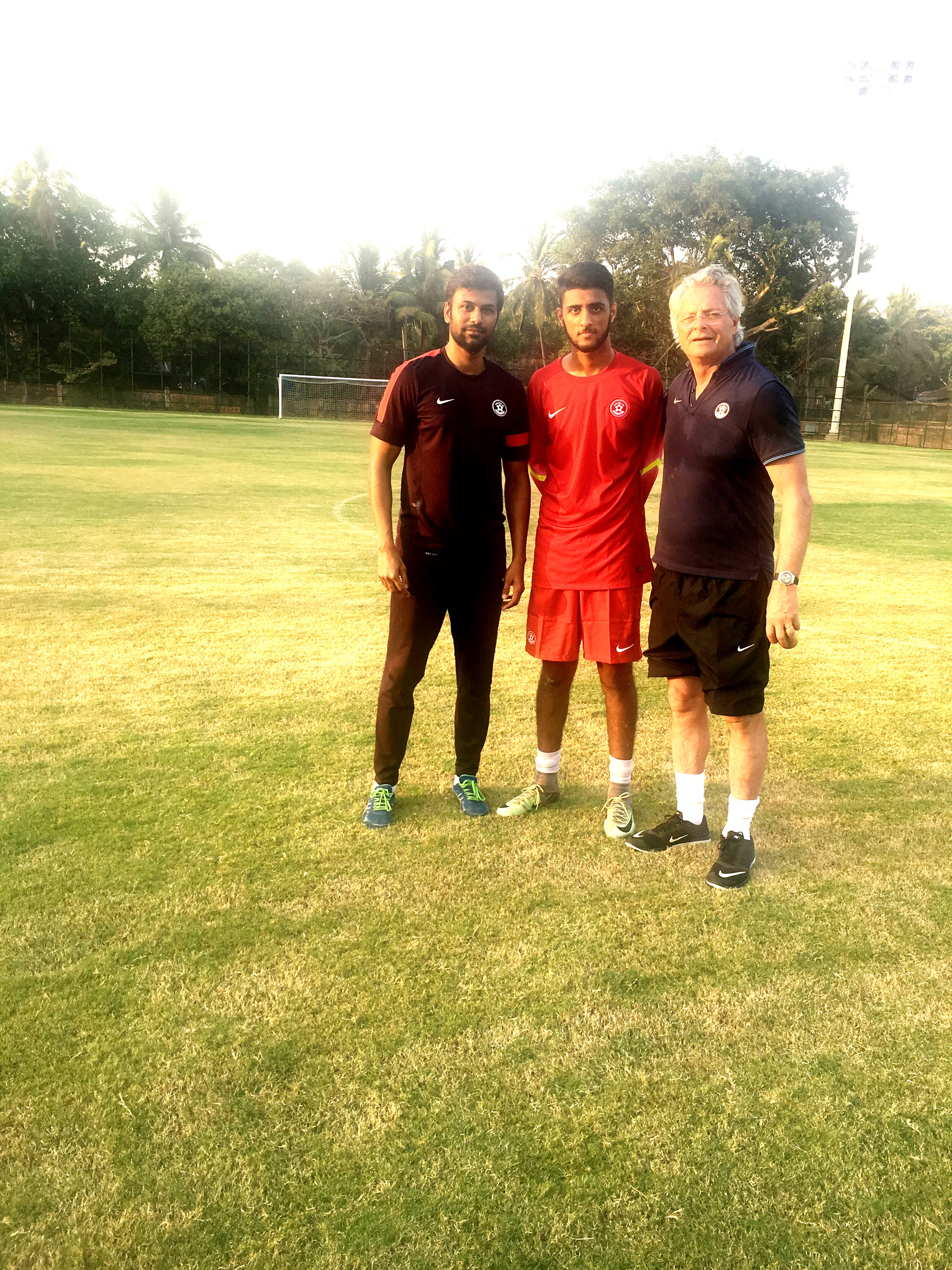 Sunny Dhaliwal India U-17 Abhishek Yadav Luis Norton de Matos