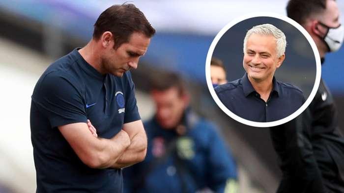 Frank Lampard Jose Mourinho GFX