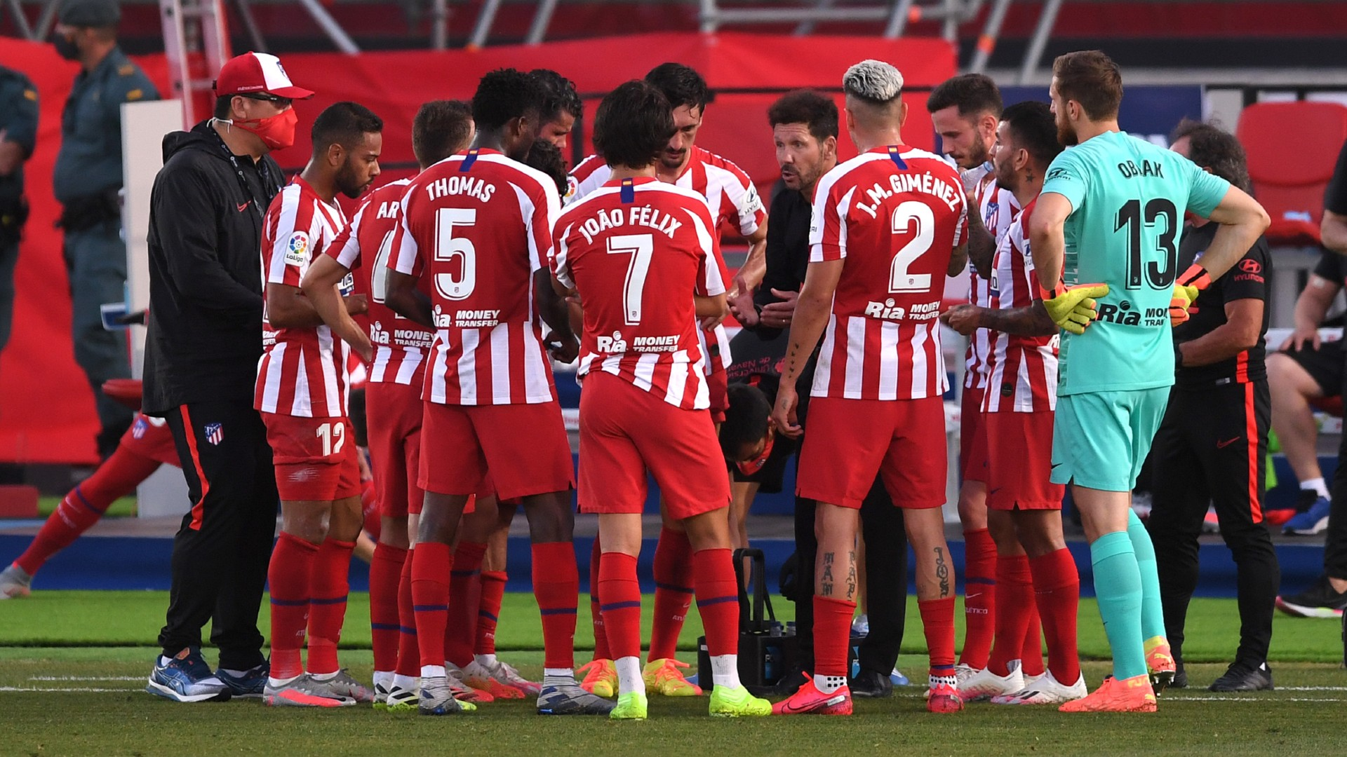 Atletico Madrid Confirm Two Positive Coronavirus Tests Ahead Of Champions League Clash Goal Com