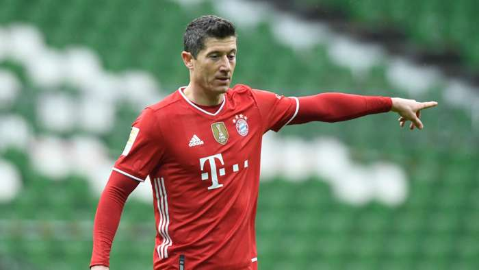 Lewandowski Bayern Munich 2021