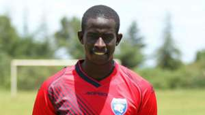 Clark Achuka signs for AFC Leopards.