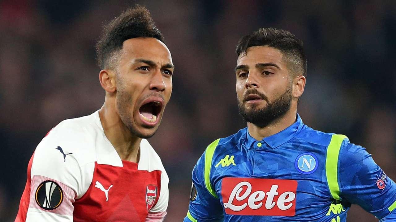 Arsenal Napoli Europa League draw