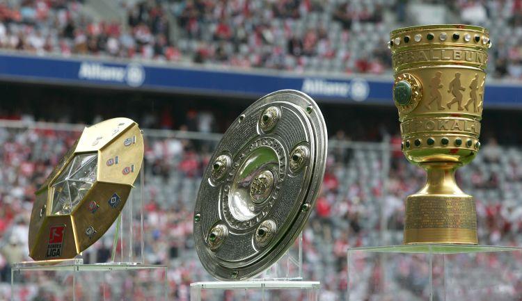 Trophy Fest As World Cup Trophy Departs Abuja Bundesliga Trophy Arrives Goal Com