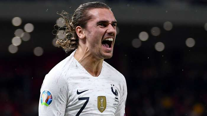 Antoine Griezmann Albania France Euro 2020 Qualifiers