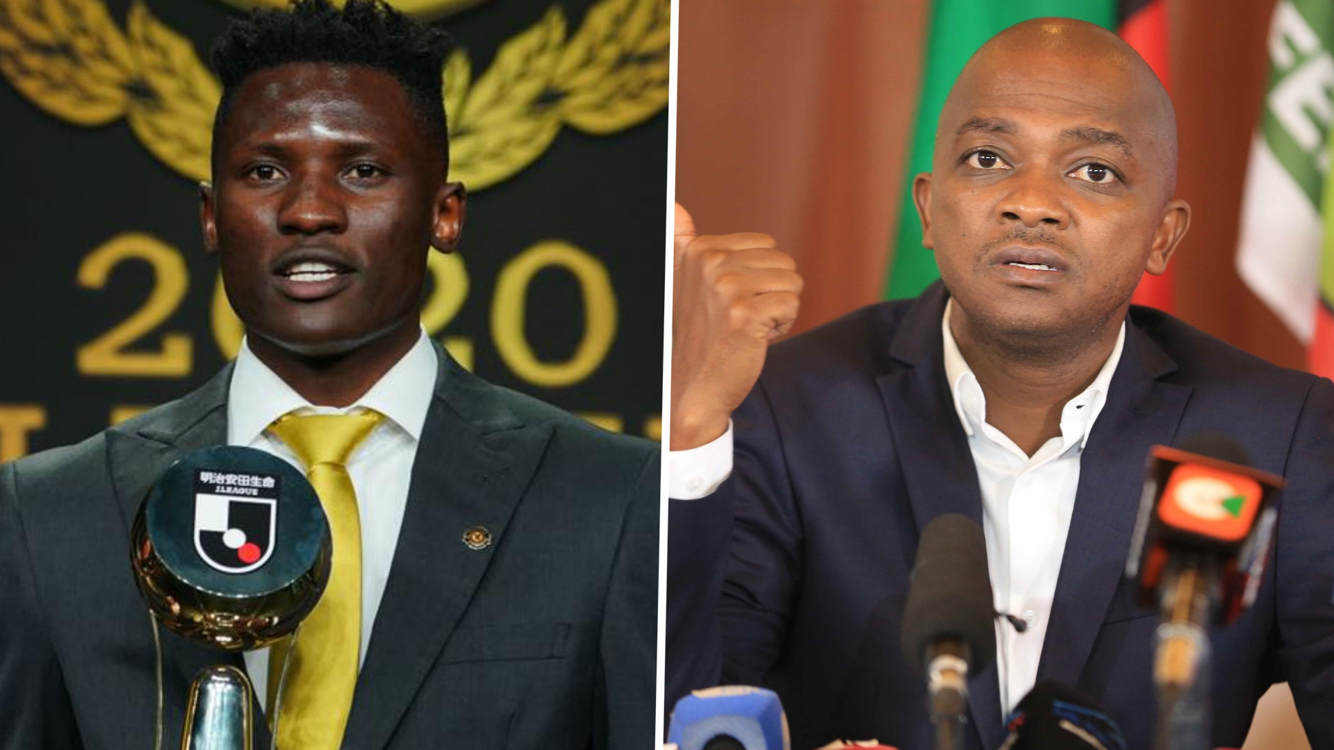 'Olunga can still do more' – Mwendwa on Kenya star after winning J1-League MVP