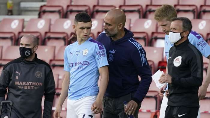 Phil Foden, Pep Guardiola, Manchester City