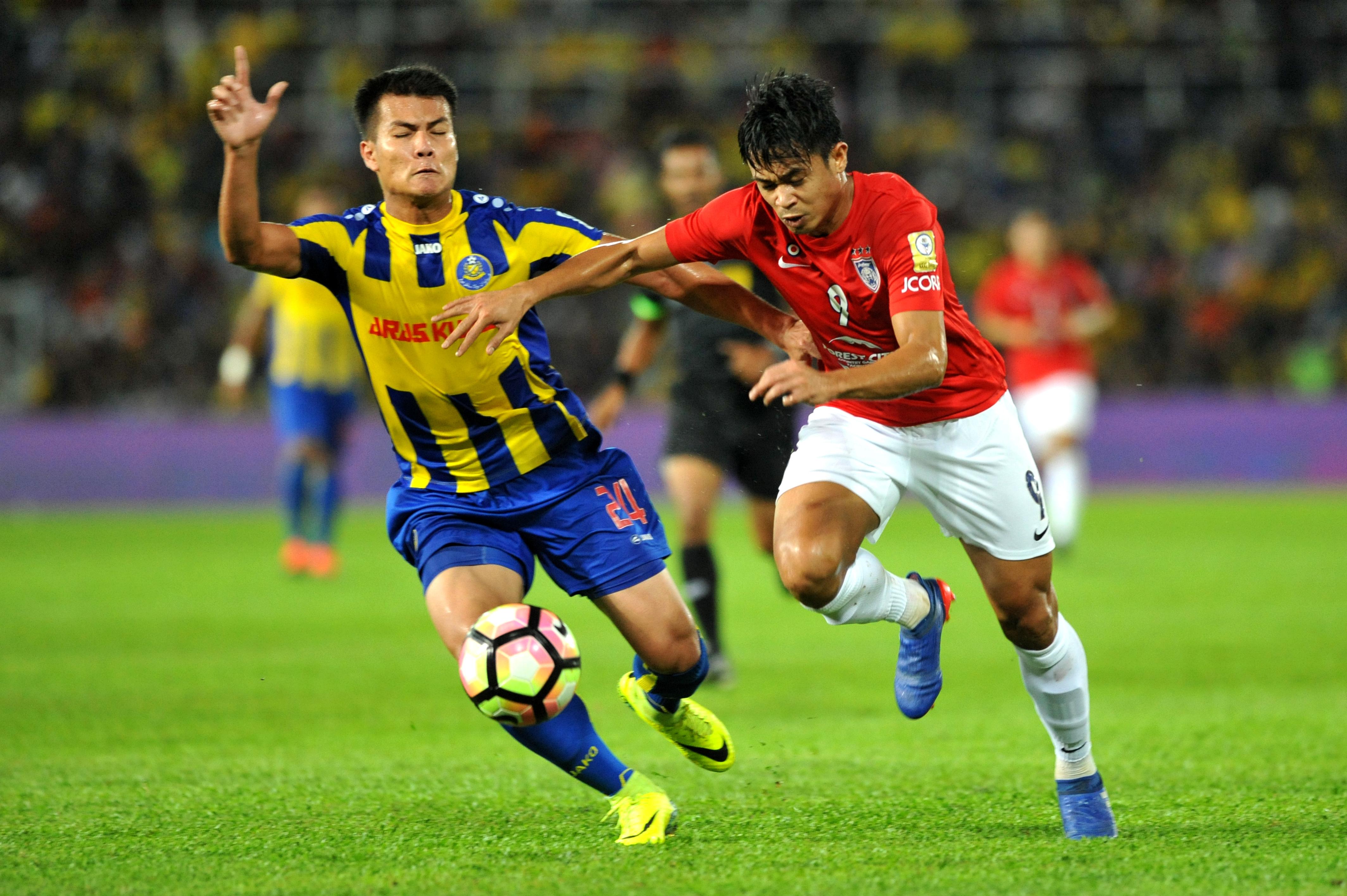 Muslim Ahmad Pahang Hazwan Bakri Johor Darul Ta'zim Malaysia FA Cup 01042017