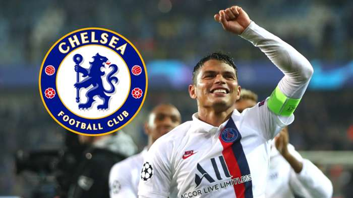 Thiago Silva Chelsea split
