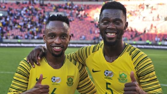 Watch Lebogang Phiri's mother Tshidi on Bafana Bafana's winning goal