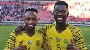 Lebogang Phiri & Thato Mokeke, Bafana Bafana, October 2019