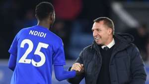 Ndidi passed fit for Leicester City's League Cup clash with Aston Villa