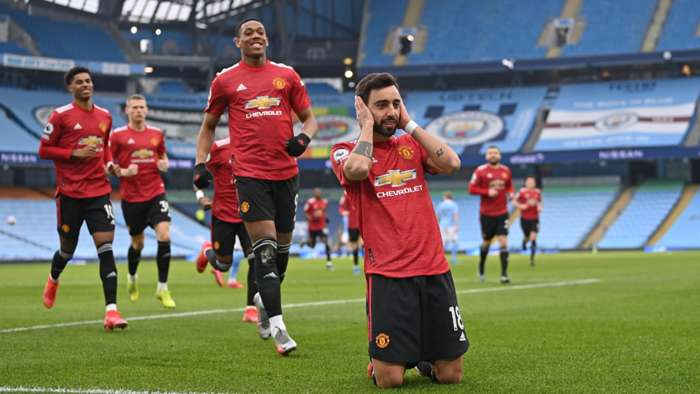 Manchester United Manchester CIty Fernandes 2021