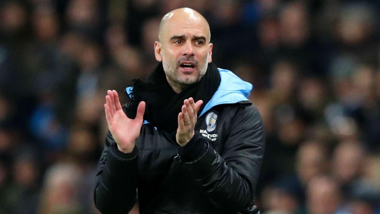 Pep Guardiola Manchester City West Ham