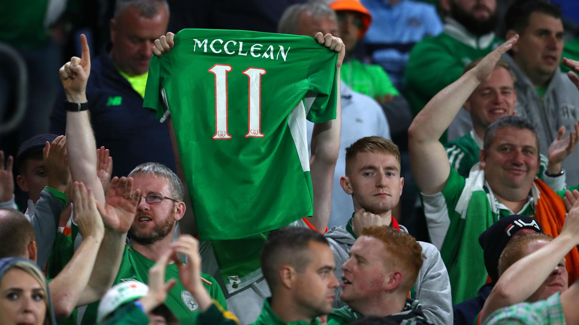 James McClean Stoke Ireland