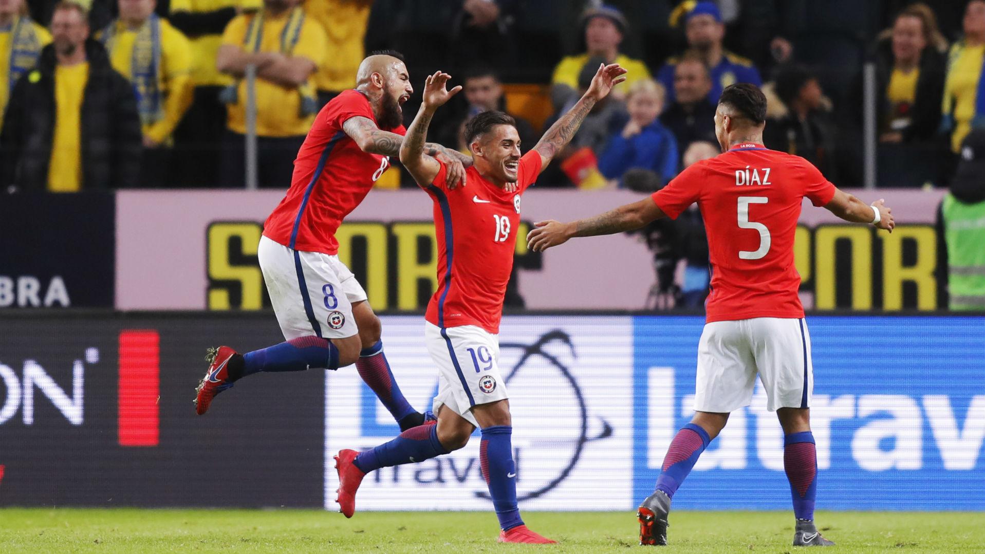 Quién es Marcos Bolados, el autor del gol del triunfo de Chile ante Suecia  | Goal.com