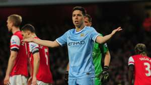 Samir Nasri Man City Arsenal