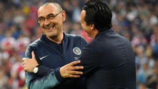 Sarri Emery Chelsea Arsenal Europa League