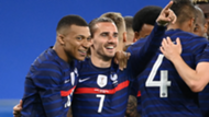 Mbappe Griezmann France 2021