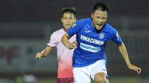 Ngo Xuan Toan vs Mac Hong Quan Sai Gon FC vs Than Quang Ninh V.League 2019