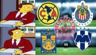 Memes Monterrey vs Tigres
