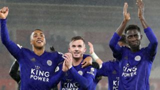 Youri Tielemans, James Maddison, Wilfred Ndidi, Leicester City 2019-20