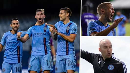 'We're definitely ambitious' - Cushing enjoying NYCFC challenge after trophy-laden Man City spell | Goal.com