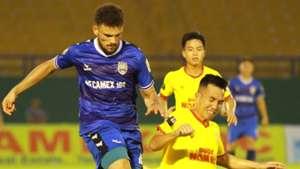 Pedro Augusto Binh Duong vs Nam Dinh Round 14 V.League 2019