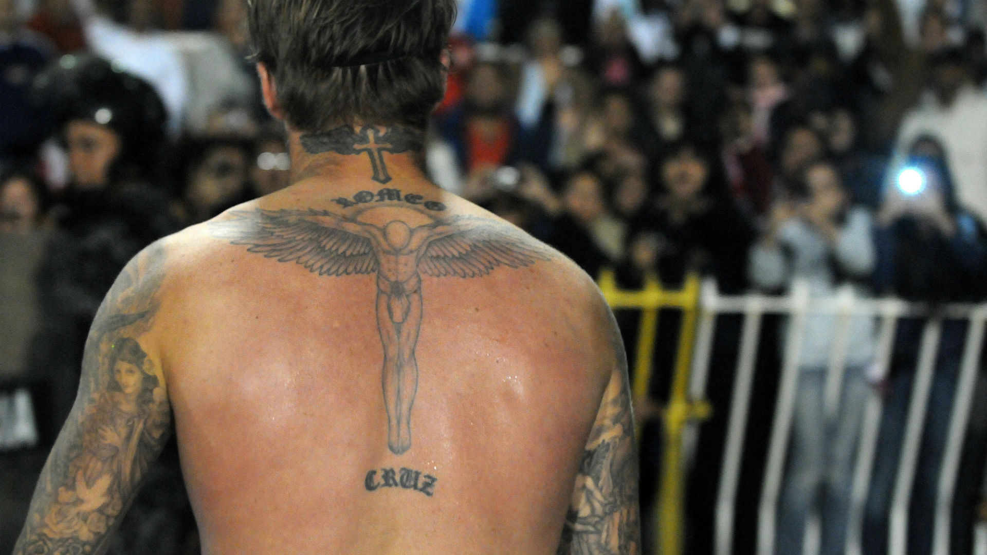 David Beckhams Tattoos Where Are They And What Do They