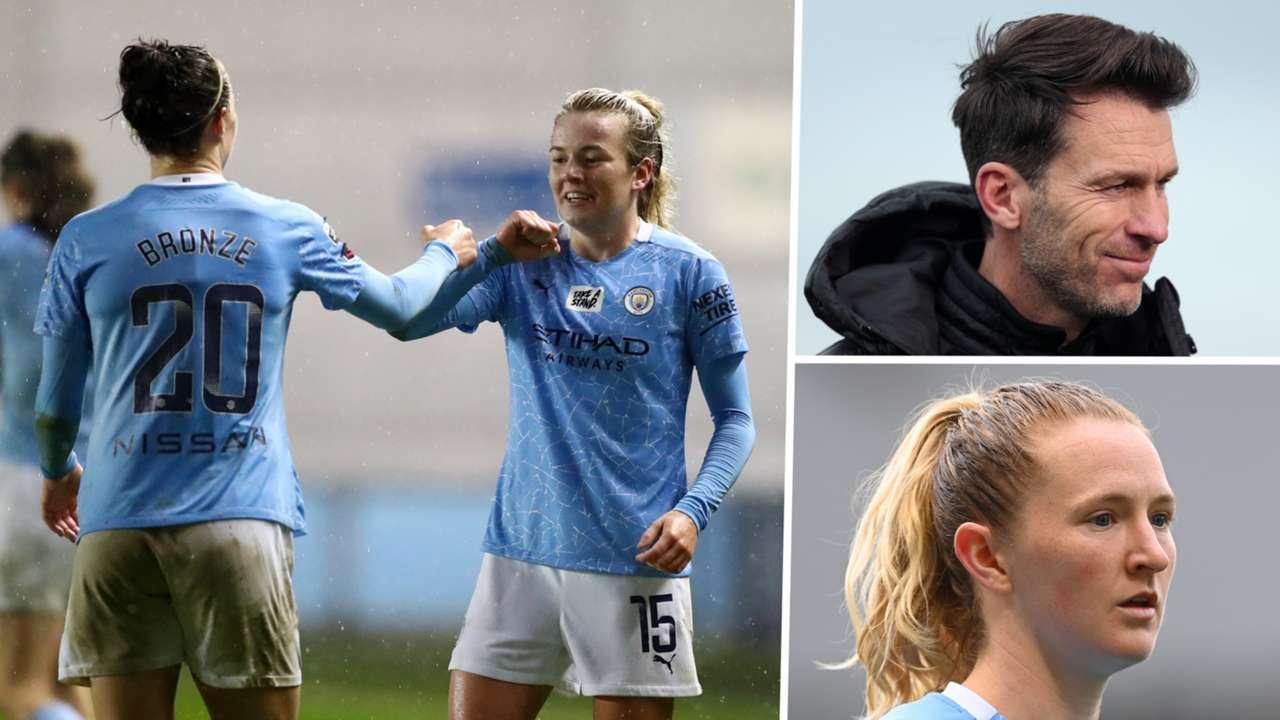 Manchester City Women split