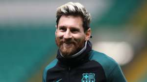 Lionel Messi Barcelona Training 22112016
