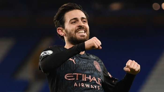Bernardo Silva, Manchester City away, Premier League 2020-21