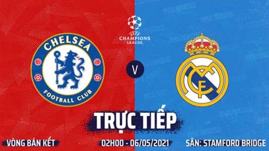 TRỰC TIẾP K+PM Chelsea vs Real Madrid. Xem trực tiếp bóng đá hôm nay. Xem trực tiếp cúp C1 châu Âu Champion...