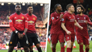 Mohamed Salah Paul Pogba James Milner penalties Liverpool Manchester United 2018-19
