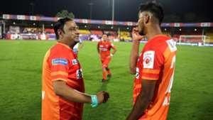 Gaurav Modwel Ashique Kuruniyan FC Pune City