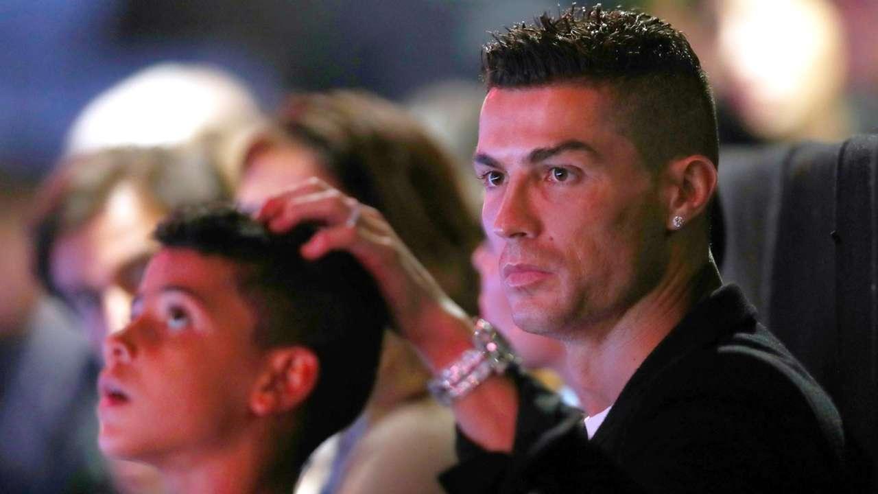 Cristiano Ronaldo son Cristiano jr