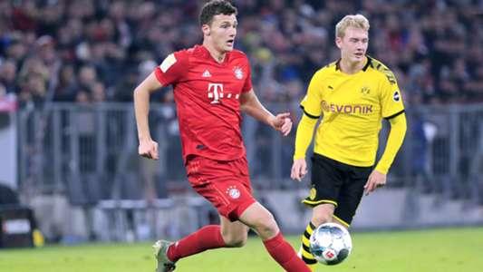 Aufstellung Bayern Gegen Dortmund