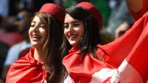 美女サポワールドカップ_ベルギーvsチュニジア_チュニジア4