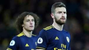 David Luiz Shkodran Mustafi Arsenal 2019-20