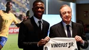 Vinicius Jr Florentino Pérez Real Madrid