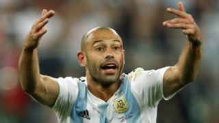 Javier Mascherano Argentina 2018 World Cup